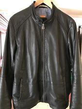Hugo Boss Leather Jacket.