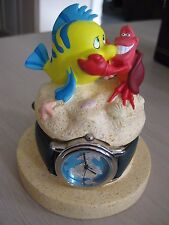 Disney Little Mermaid Flounder Sebastian Sidekicks LE 2000 Watch #174 Never Worn