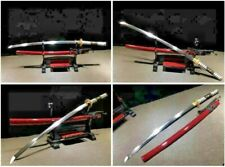 High Quality Japanese Samurai Katana Sharp T10 Clay Tempered Steel Sword Saber