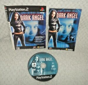 James Cameron's Dark Angel PS2 Game DISC, SLEEVE & MANUAL ONLY