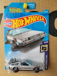 Hot Wheels 2016 - BACK TO THE FUTURE HOVER MODE [SILVER] NEAR MINT VHTF