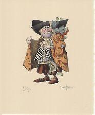 James Christensen THE FISH SMUGGLER, ORIGINAL LITHOGRAPH,  #95/150 RARE!