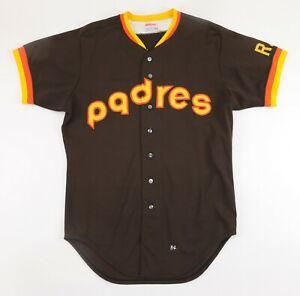 1984 San Diego Padres TEAM ISSUED Baseball Jersey w/ RAK Patch