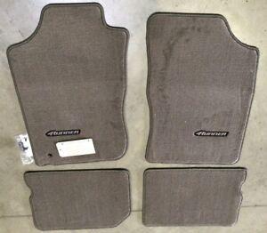 1996-2002 4RUNNER Carpet Floor Mats OAK Beige PT206-89010-14 GENUINE TOYOTA OEM