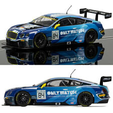 SCALEXTRIC Slot Car C3846 Bentley Continental GT3, Team HTP Blue