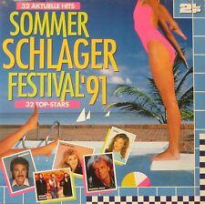 Sommer-Schlager-Festival 1991 - 32 aktuelle Hits & Stars (2 LPS Germany 1991)