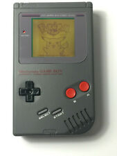 Refurbished NES Style Nintendo Gameboy Yellow Backlight, Bivert & Glass Screen