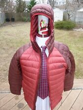 NEW! North Face Trevail Jacket/Coat Sz. S Cardinal Red HOODIE Down Warm NWT $249