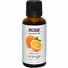 Now Foods Pure Orange Essential Oil 1oz. Bottle For Diffusers & Burners! SHIPFRE
