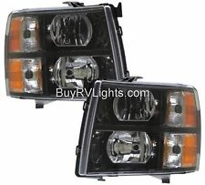 JAYCO ALANTE 2011 2012 2013 2014-2016 PAIR BLACK HEAD LIGHTS LAMP HEADLIGHTS RV