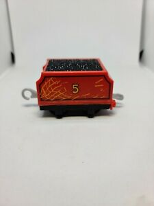 2013 Thomas The Train Gullane coal car Hard Plastic Used Toy Cake Topper Used