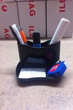 Staples Master Black Pen Pot Small items Desk Organizer Office Table Organizer