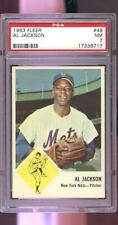 1963 Fleer #48 Al Jackson New York Mets NM PSA 7 Graded Baseball Card