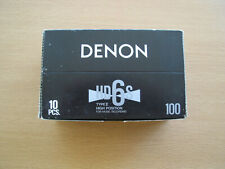 DENON HD6S 100 TYPE II TAPES