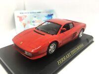 Ferrari Testarossa Italian Sports Car 1984 Year 1/43 Scale Diecast Model