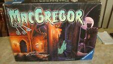 MacGREGOR. GHOST CASTLE. RARE 2001 RAVENSBURGER BOARD GAME` INCOMPLETE~ 1 FIGURE