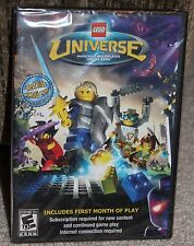 new LEGO multiplayer online game UNIVERSE e10+ DVD-ROM software FACTORY SEALED