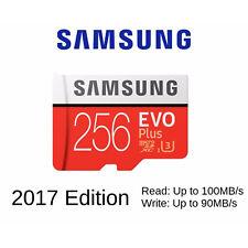 Carte Mémoire Micro SD 256gb Samsung Evo Plus 256 Go Class 10 UHS-1 U3