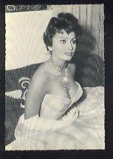 SOPHIA LOREN sexy vintage 60s cp carte postale postcard Photo # 501