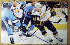 THOMAS VANEK - Buffalo Sabres 2009-2010 game night poster #41 -NHL hockey 4-6-10