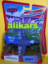 MR - MARCO -#2 Jet Plane Mega Size Race O Rama Disney Mattel Cars oversized toy