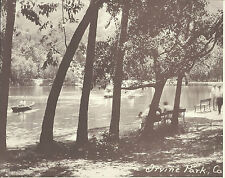 "ORANGE COUNTY Lake Boat IRVINE PARK Photo Print 1376 11"" x 14"""