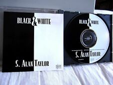 S ALAN TAYLOR country music Black & White CD-single 1994