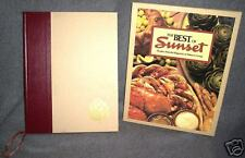 Best of SUNSET Recipes Magazine Western Living Cookbook