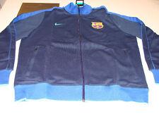 FC Barcelona Premier League Soccer Track Jacket L Blue