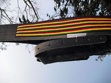 Blue Bud Reggae Pelle TRACOLLA PER CHITARRA guitarstrap anche XL