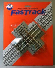 LIONEL FASTRACK 90 DEGREE CROSS OVER train track fasttrack o gauge 6-12019 NEW
