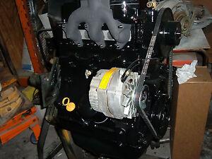 CONTINENTAL 3 CYLINDER  TMD20 DIESEL ENGINE,CASE 1835 LOADER,REBUILT LONG BLOCK