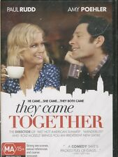 THEY CAME TOGETHER -   Paul Rudd, Amy Poehler, Bill Hader - DVD