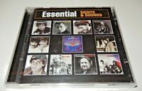 Essential Sights Sounds Journey The Clash Johnny Cash (CD, 2005,2-Discs) NEW