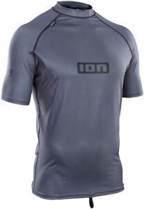 ION Surf Lycra T-Shirt PROMO SS Lycra 2021 steel blue Wassersport Bademode