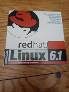 Red Hat Linux 6.1 OS Operating system 2 disc