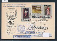 97214) LH So-LP 40 J. SA Service Stuttgart-Rio 3.2.74, KT Finland SP Finlandia