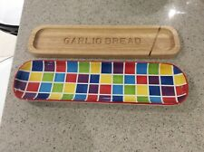Whittard of Chelsea garlic bread board and tray set.