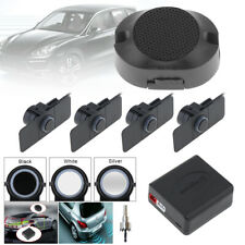 Car Video Parking Reverse Backup Assistance + 4 Radar Parking Sensor 3 Colors