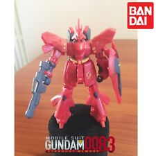 GASHAPON GUNDAM FW MSN-04 SAZABI FUSION WORK BANDAI.