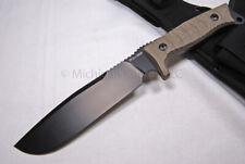 FOX Knife - FX 133 MGT Combat Jungle Survival Knife - Camping Knife   (F24)