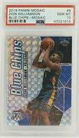 2019 Blue Chips Mosaic #8 Zion Williamson PSA 10