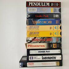Rare Horror BETAMAX Cassette Tape Lot + Comedy Vintage Sony Beta S1