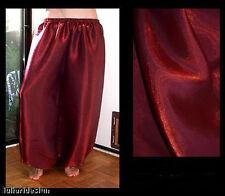 Harem Pants Belly Dance Dark Red w/ Red Glow