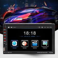 "7"" 2 Din Mirror Link Bluetooth D-BUS Car Radio Stereo Audio CD DVD MP5 Player"