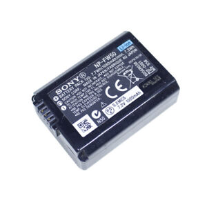Genuine Sony NP-FW50 Battery for SONY Alpha A5000,A5100,A6000,A6300,A6500