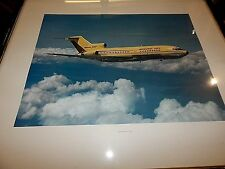 Boeing 727, Original Advertising Print (not a copyof an old print) Aviation Art.