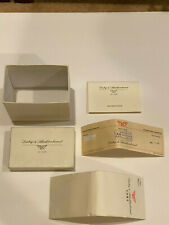 Dubey & Schaldenbrand Box,  Aduo/ST Sig/LD #1352 Instruction Pamphlet & Guarant.