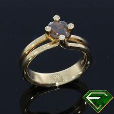 Handgefertigte Ringe aus Gelbgold mit VS Reinheit