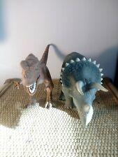Lot Jurassic Park Triceratops Young T-rex tyranosaurus rex jp vintage